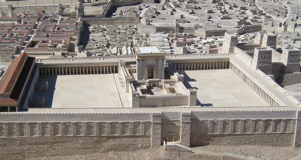 Maquette du Temple de Jerusalem
