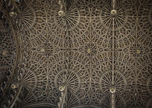 Voute gothique de l'abbaye de Westminster
