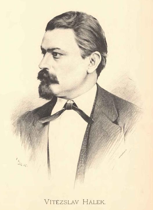 Portrait de Vítězslav Hálek